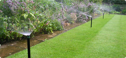 Complete Irrigation Systems » Garden and Landscape Irrigation